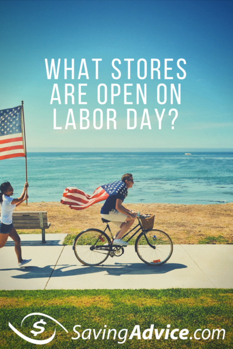 Stores Open on Labor Day