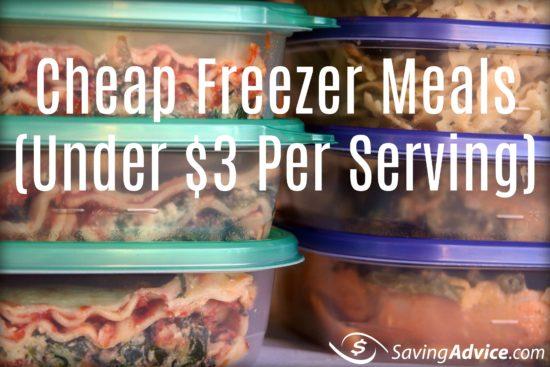 cheap freezer meals