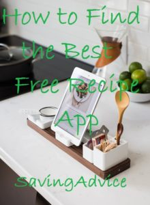 The best free recipe app for you might not be for everyone.