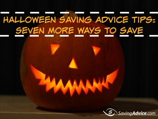 saving advice for halloween