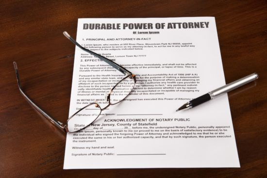 You're never too young for a power of attorney.