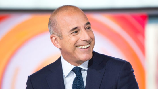 what is Matt Lauer's net worth
