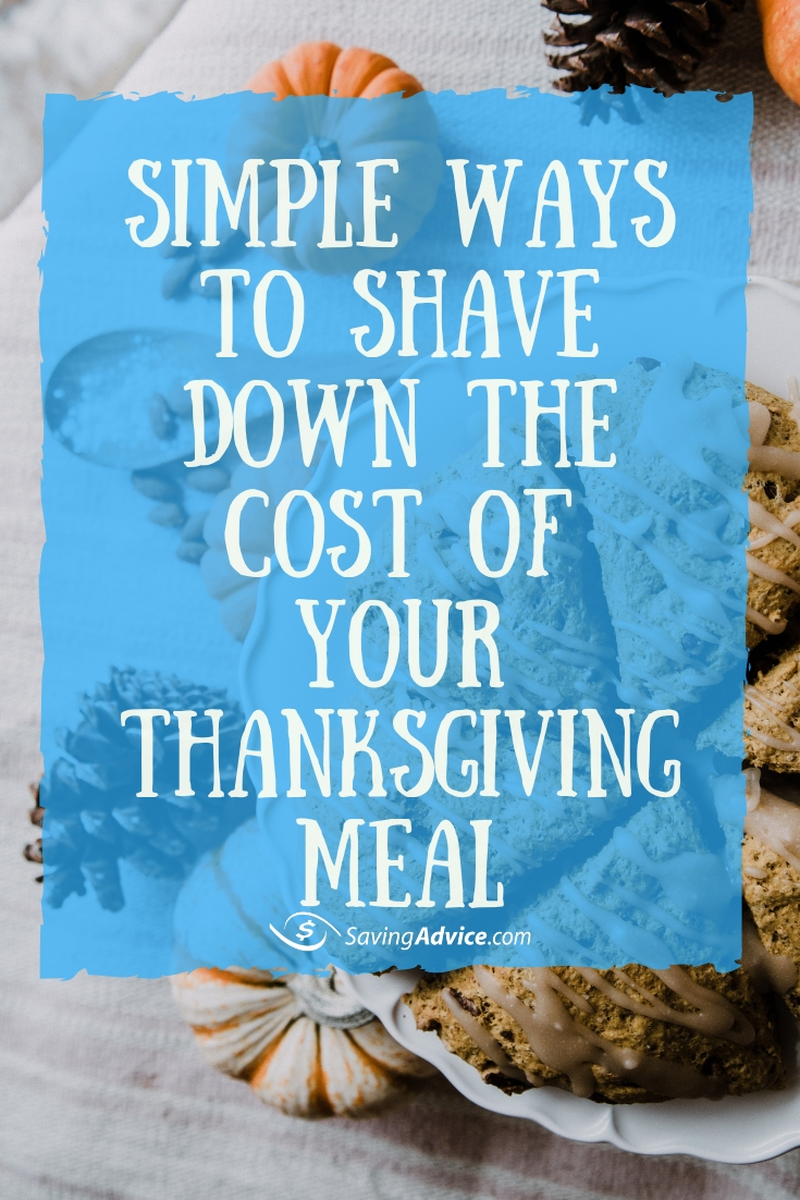 saving money on thanksgiving meal, cutting costs on thanksgiving meal, affordable thanksgiving