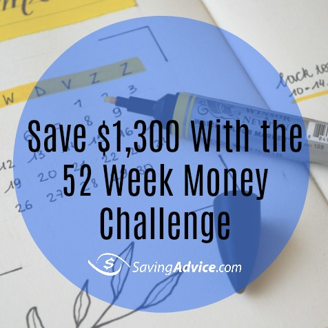 how to do the 52 week money challenge