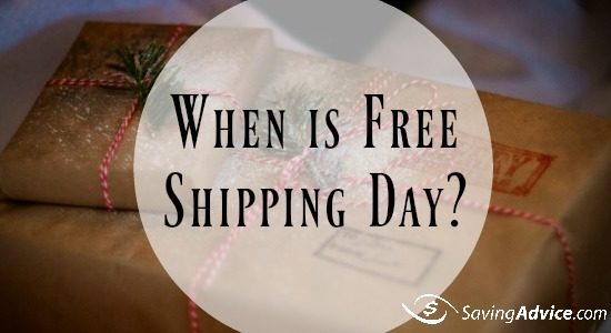 When is Free Shipping Day