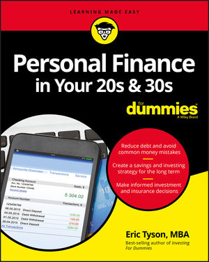 Common financial mistakes that young adults make by Eric Tyson from the book Personal Finance in Your 20s and 30s for Dummies.