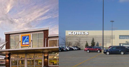 Kohl's Aldi Grocery Store