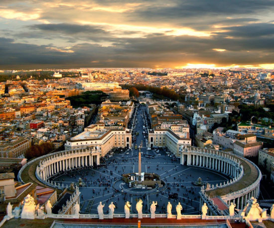 What is the real estate value of the Vatican