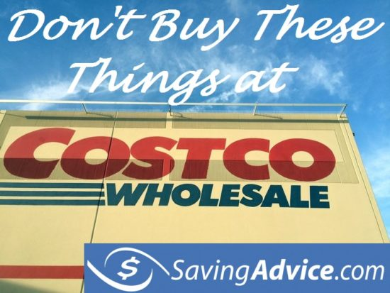 Things you shouldn't buy at Costco
