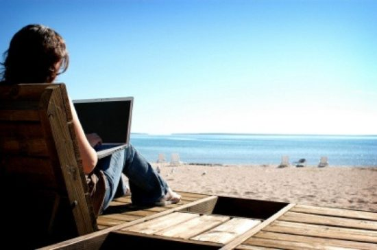 Digital nomad earn a living anywhere you can