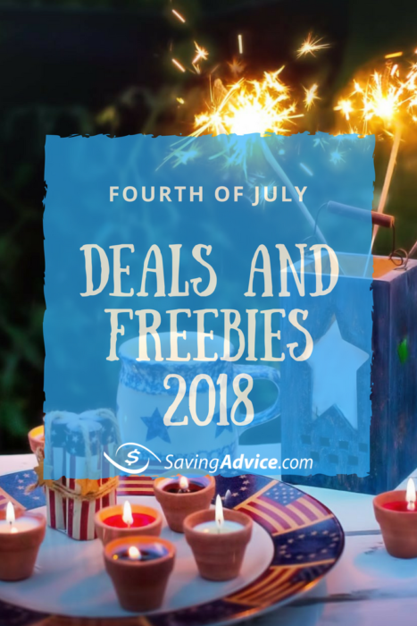 Today is the 4th of July, the day America celebrates its independence. More than just fireworks, parades, and picnics, though, the 4th of July is also a day of great sales events.