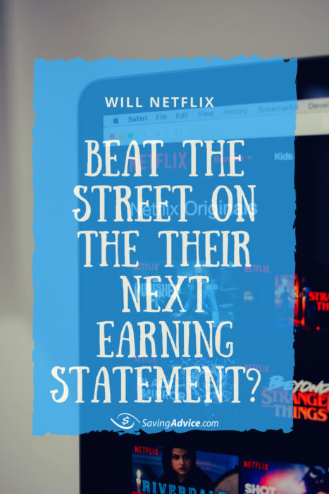 Netflix, Netflix earning statement,