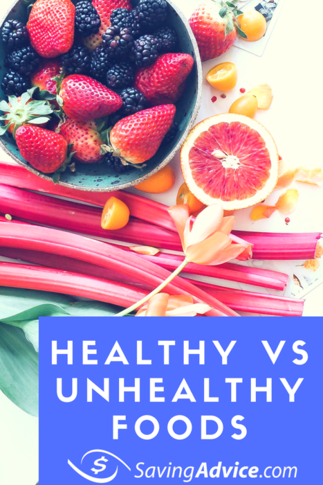 healthy vs unhealthy