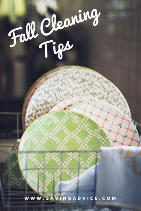 fall cleaning tips to save