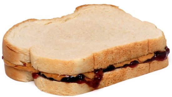 back to school PB&J