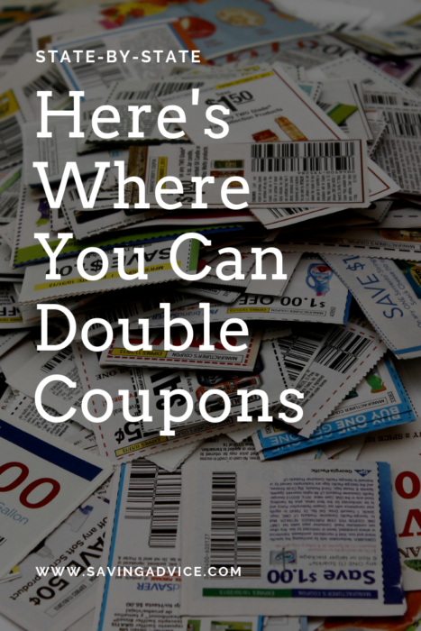 Double coupons by state