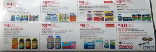 Costco October 2018 coupon book