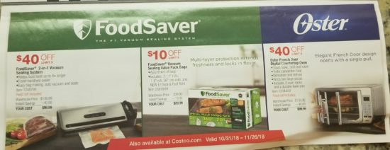 Costco November 2018 Coupon Book