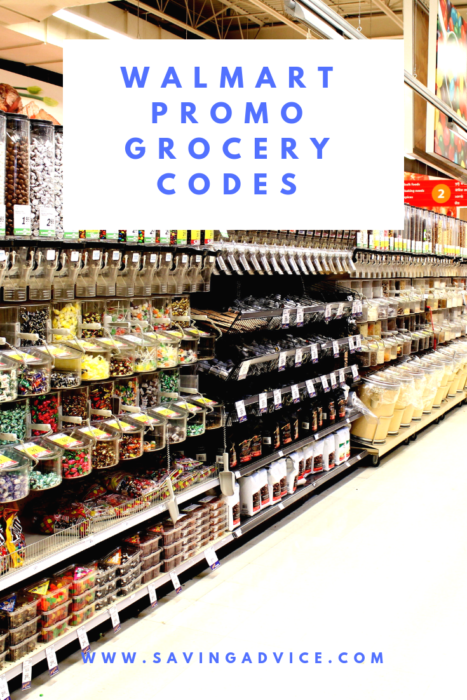 Walmart promo grocery codes