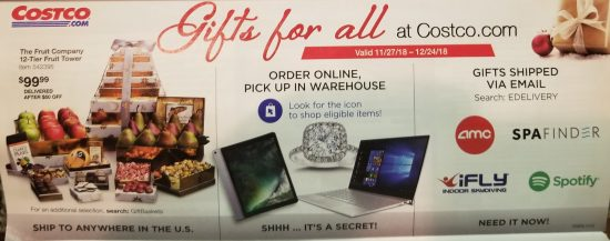 Costco December 2018 coupon book