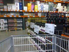 Costco liquor