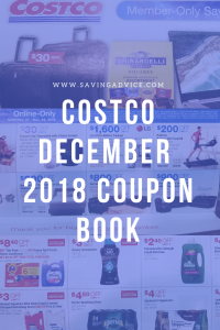 Costco December 2018 coupons