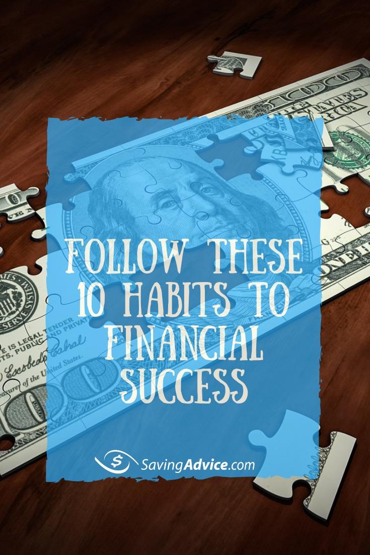 financial success tips, habits to financial success, financial tips