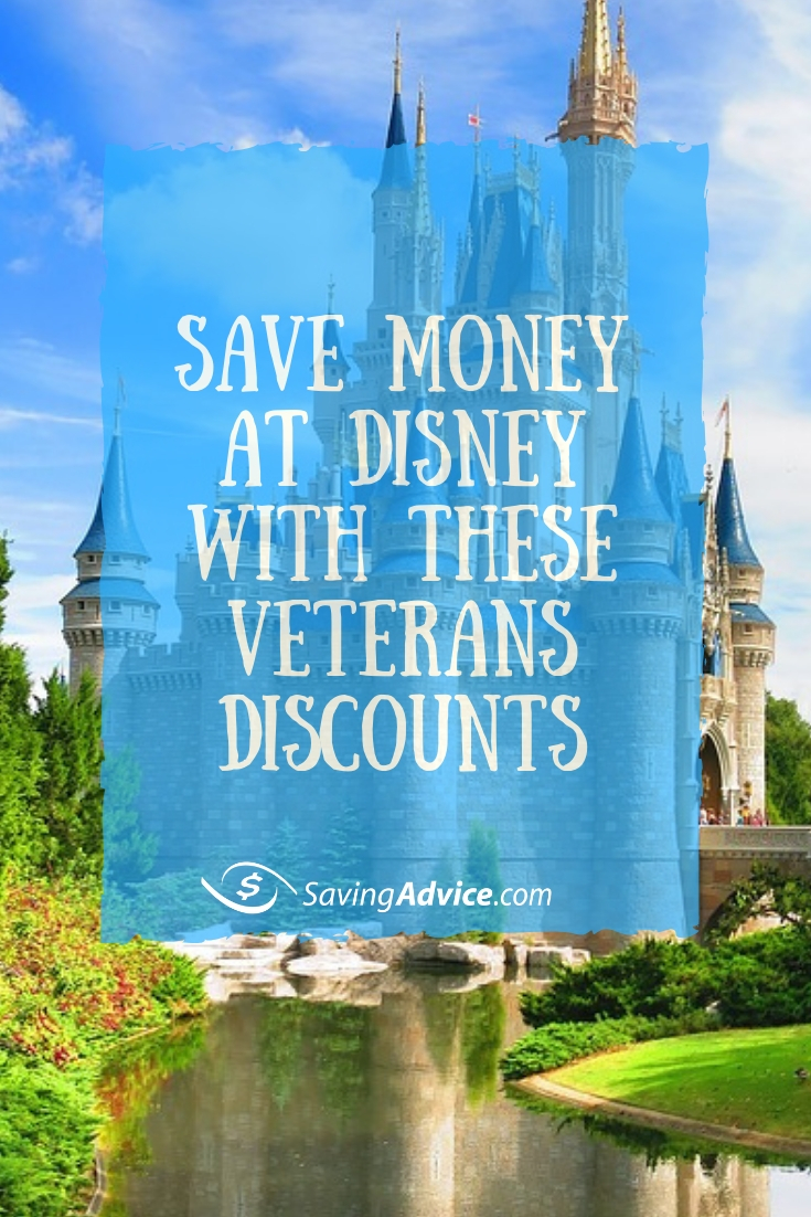 vacation at Disney, save money at Disney, veteran discount at Disney