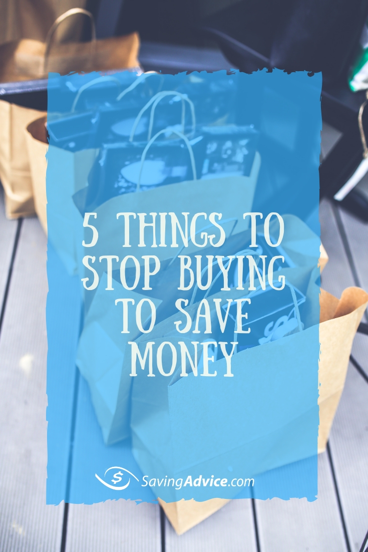 stop buying these to save money, saving money tips, saving money