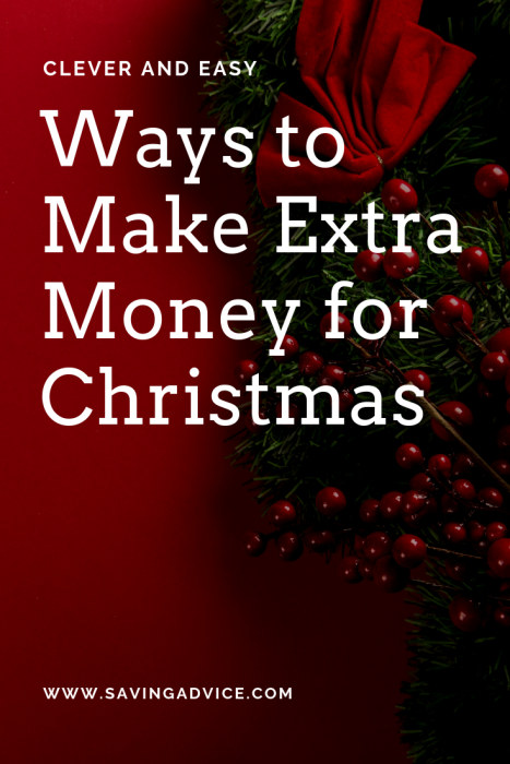 ways to make extra money for christmas