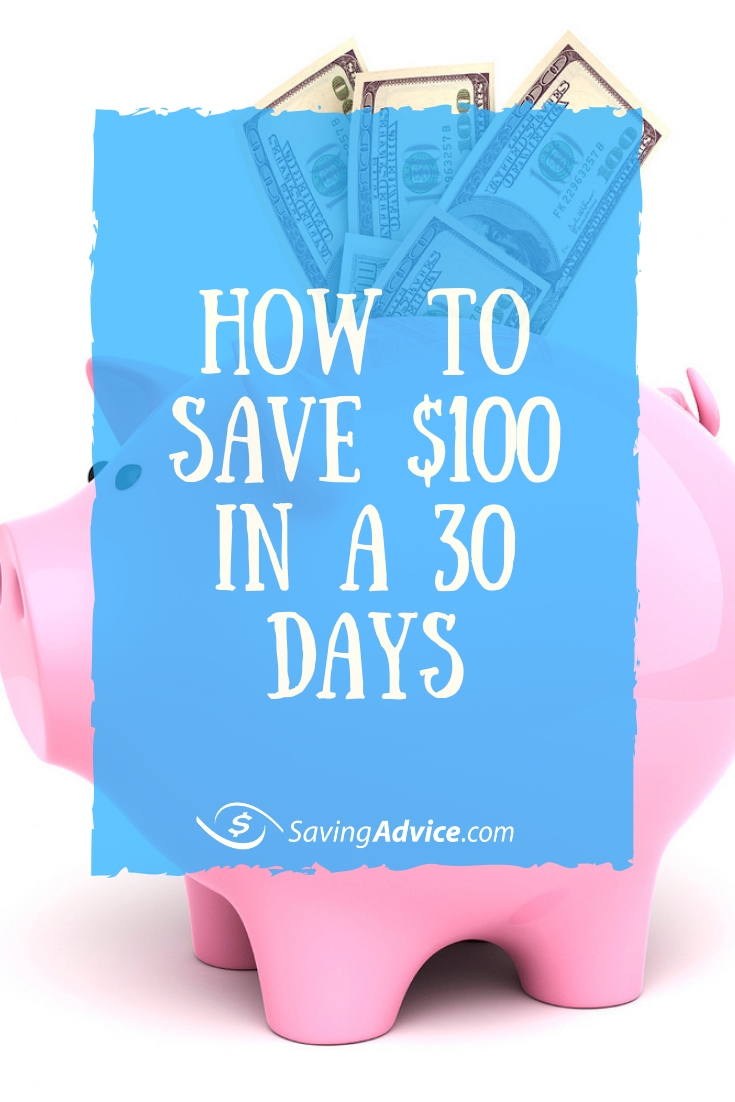 30 day money saving challenge