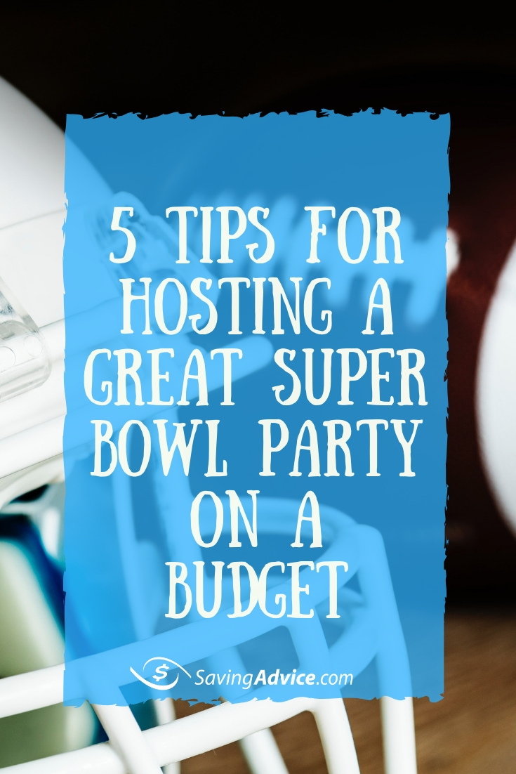 cheap superbowl party