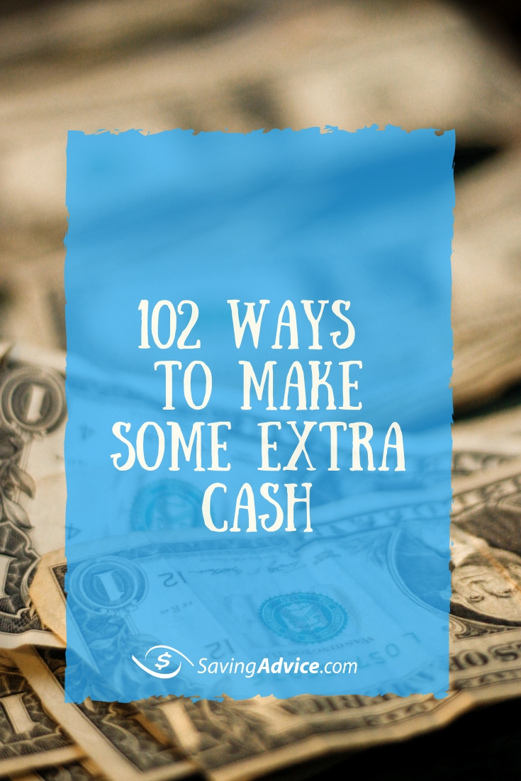 ways to make some extra cash