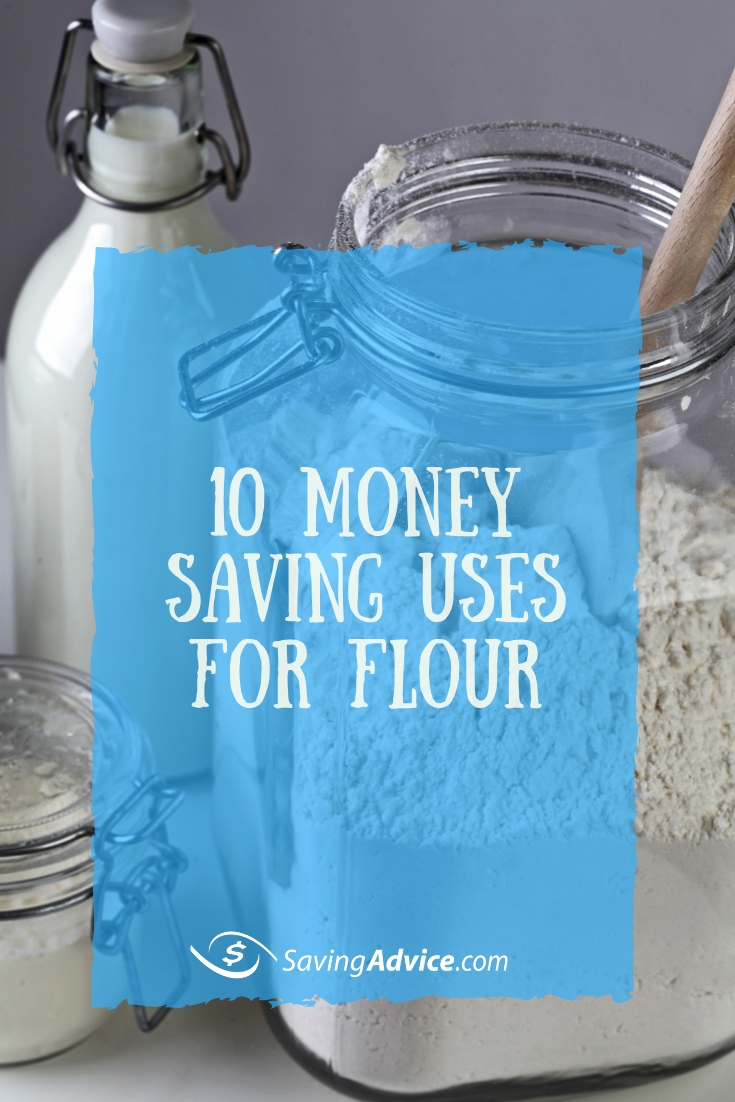 money saving uses for flour