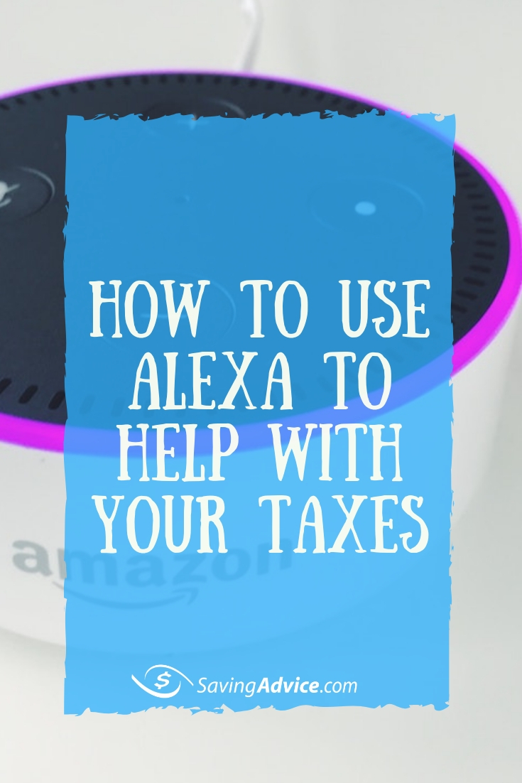 how to have alexa help you with your taxes