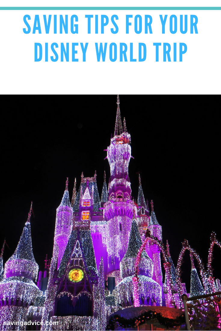 Saving Tips For Your Disney World Trip