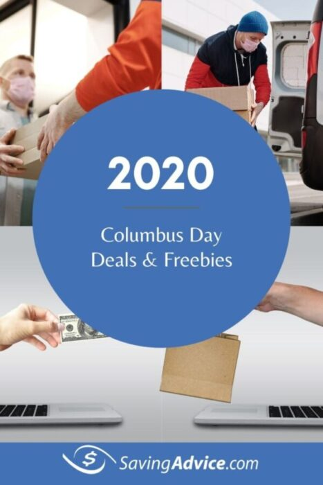 Columbus Day deals