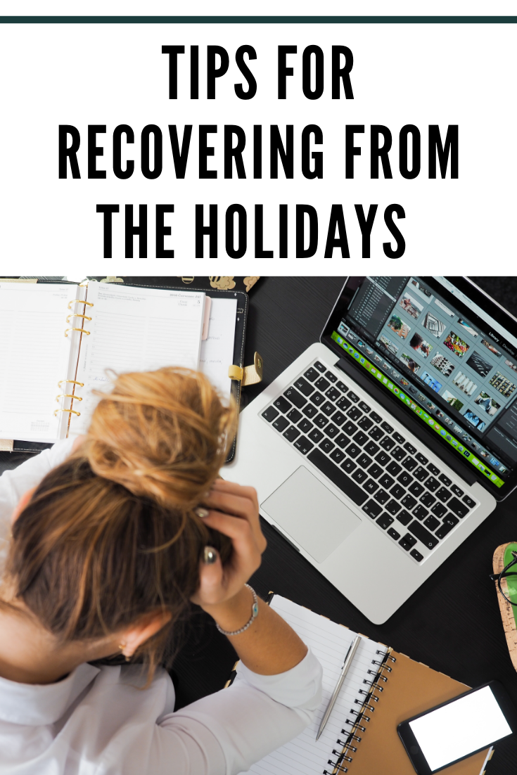 Getting your finances back on track after the holidays