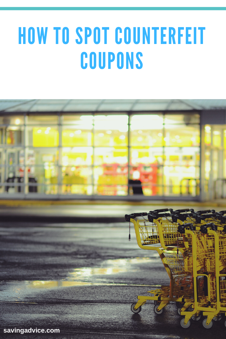 How to Spot Counterfeit Coupons