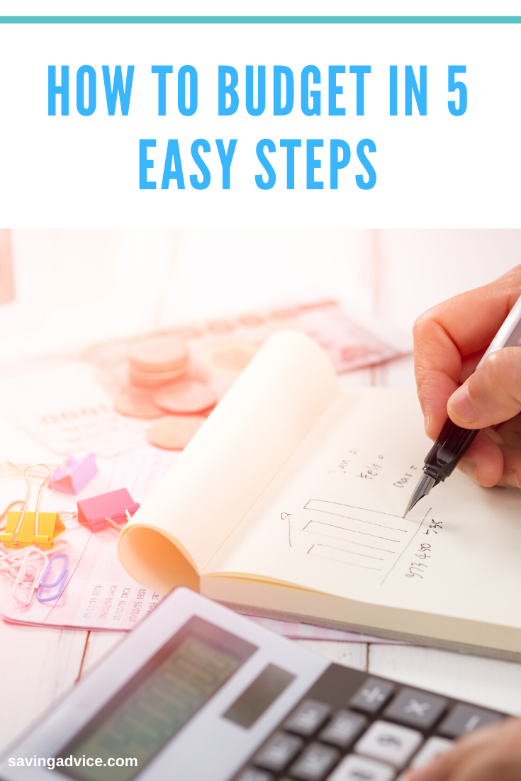 It's Never Too Late to Budget-Start With These 5 Steps