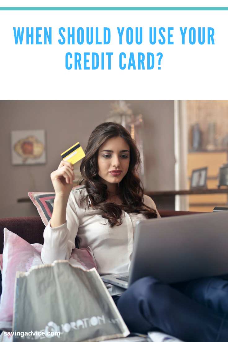 When Should You Use Your Credit Card