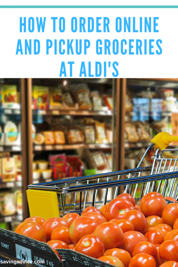 How to Order Online and Pickup Groceries at ALDI's