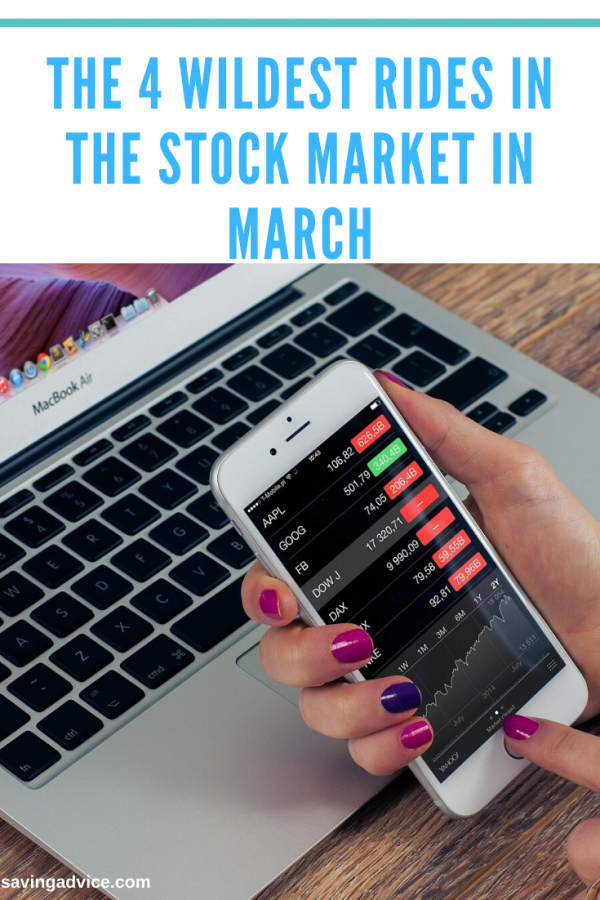 The 4 Wildest Rides in the Stock Market in March