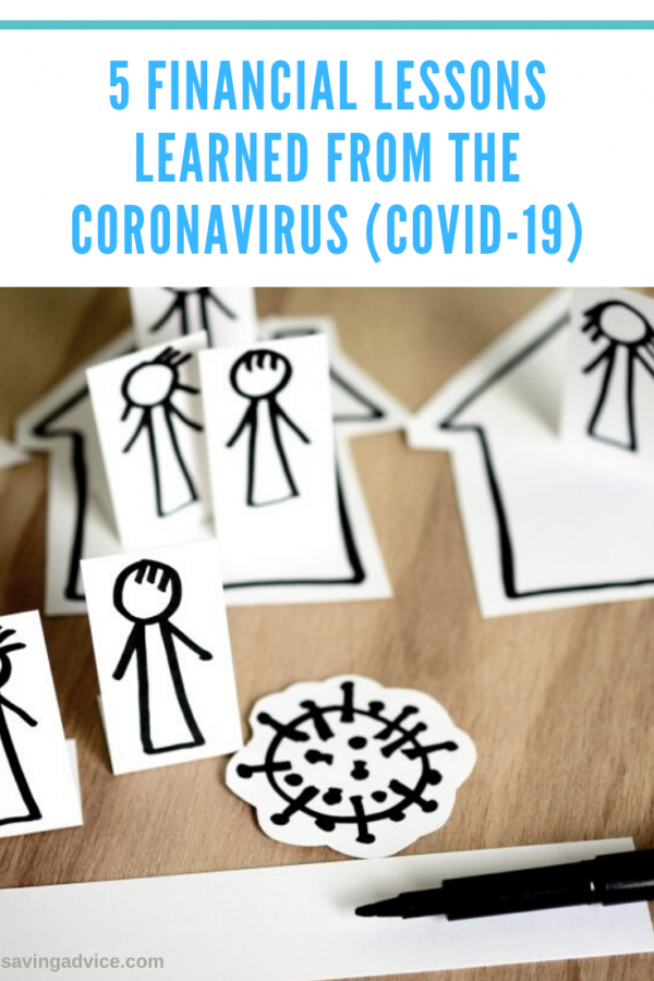5 Financial Lessons Learned From the Coronavirus (COVID-19)