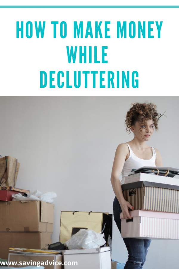 How to Make Money While Decluttering