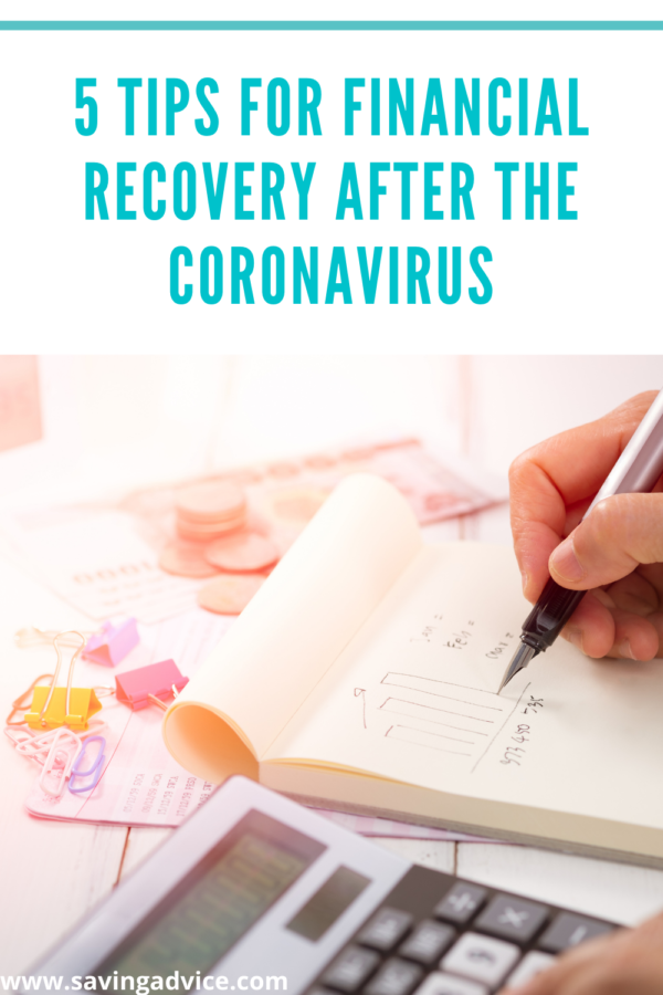 5 Tips for Financial Recovery After The Coronavirus