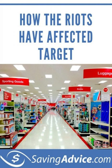 how the riots have affected target