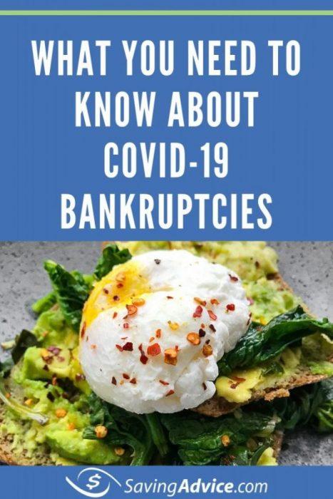 COVID-19 bankruptcies