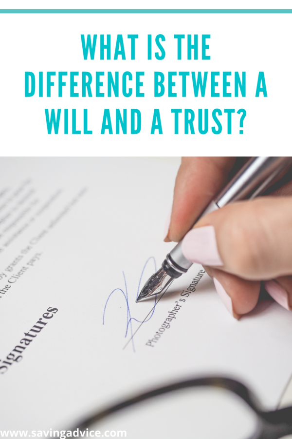 What Is the Difference Between a Will and a Trust