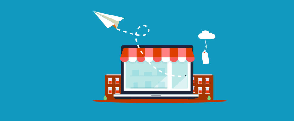 Shop Online with a checking account